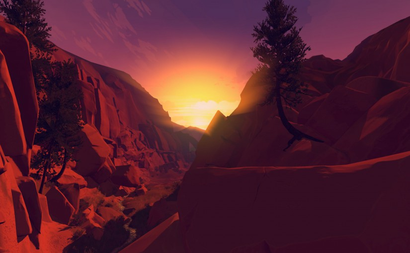Some thoughts on Firewatch